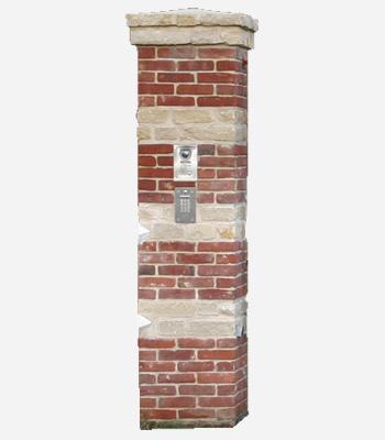 pilier en briques photos