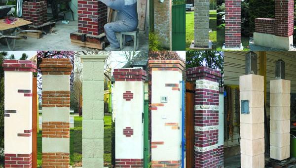 Piliers de portail sur mesure fabricant normand