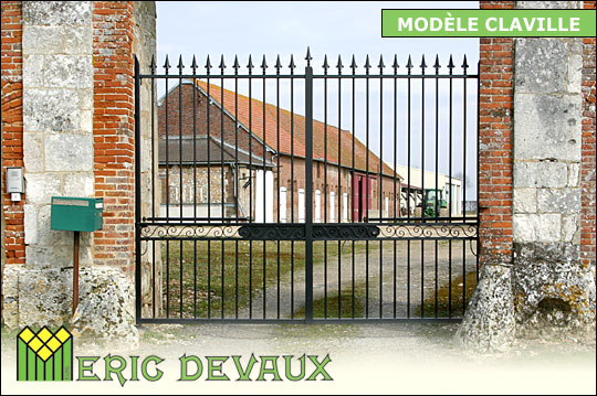 fabricant portail fer sur mesure pose deauville lisieux eric devaux. Black Bedroom Furniture Sets. Home Design Ideas