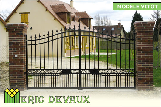 Fabricant Portail Fer Sur Mesure Pose Deauville Lisieux  Eric Devaux