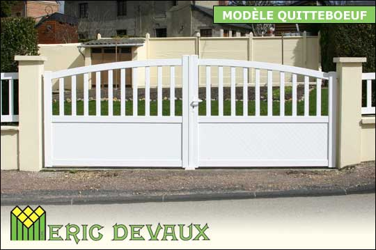 fabricant portail pvc sur mesure pose deauville lisieux eric devaux. Black Bedroom Furniture Sets. Home Design Ideas