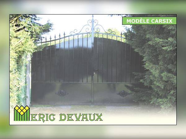 Portail ferronnerie maison à Deauville