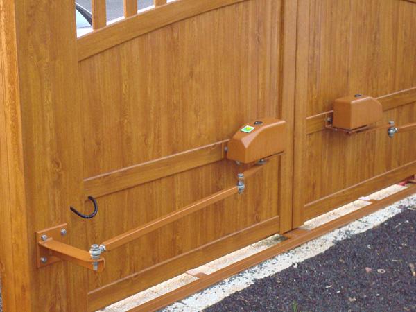 motorisation de portail battant