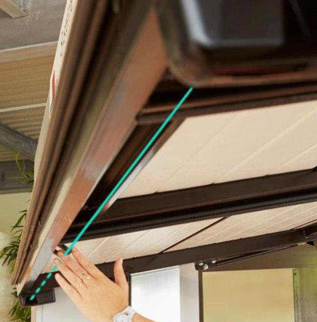 accessoire de sécurité pour porte de garage