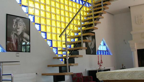 Escalier sur mesure à Deauville