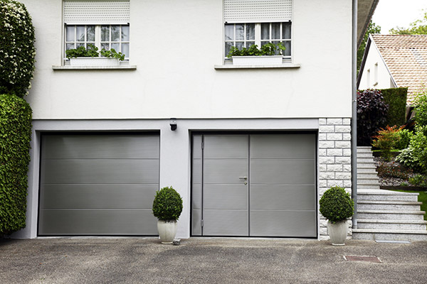 Porte de garage double