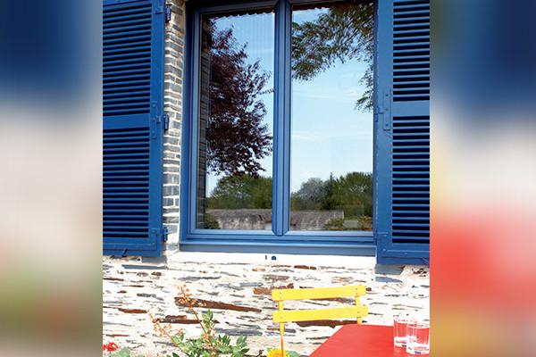 Fenêtre et volets mixte sur mesure