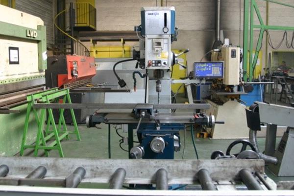 machines pour fabrication de portail