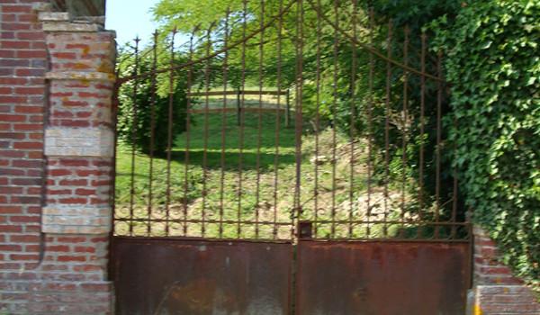 Restauration portail en Normandie