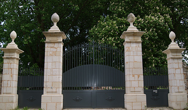 restauration portail fer forgé en Normandie